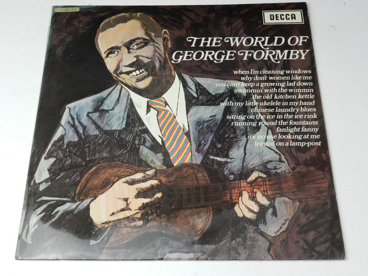 George Formby – The World Of George Formby vinyl record sleeve scaled