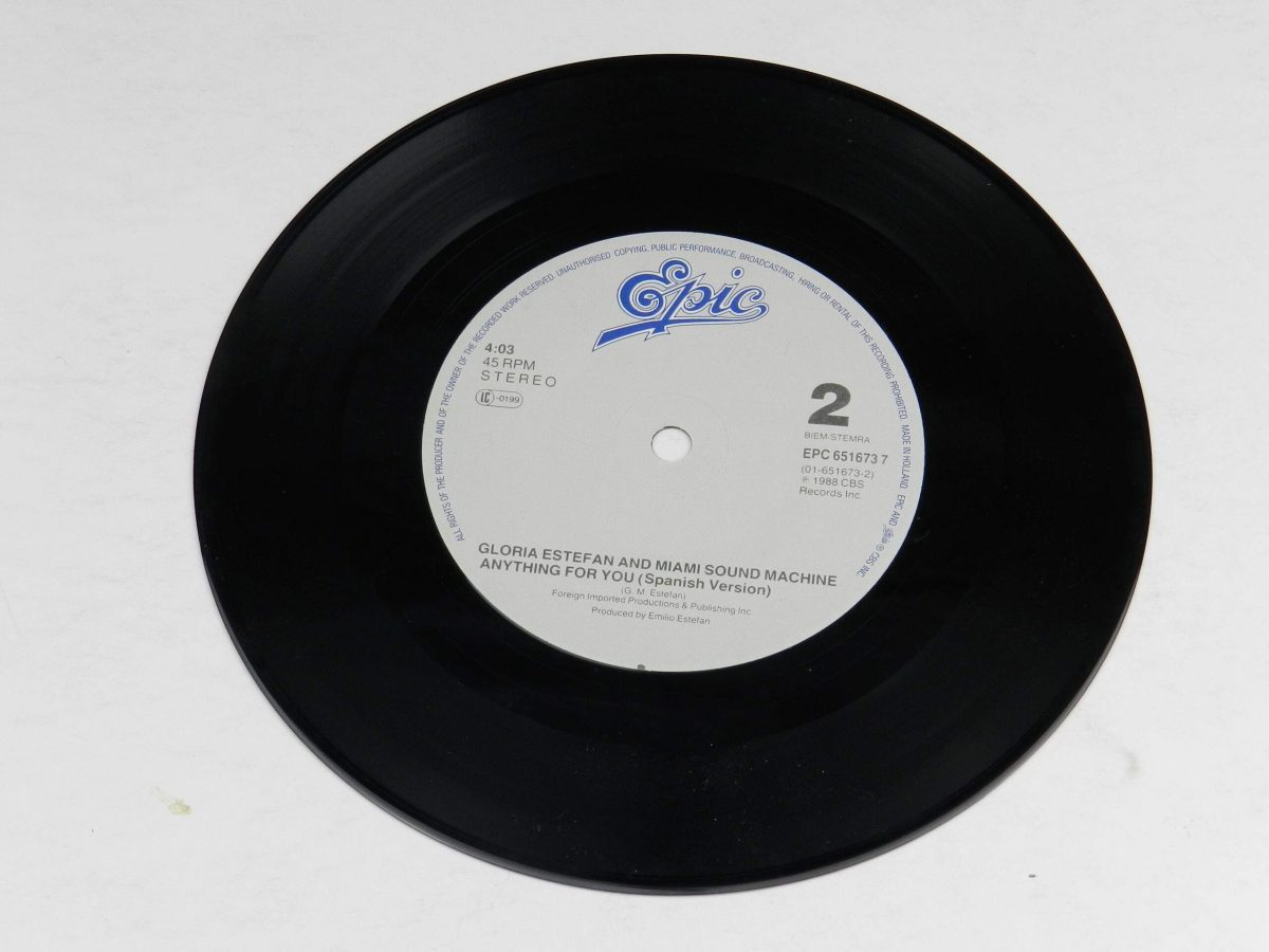 Gloria Estefan And Miami Sound Machine – Anything For You vinyl record side B scaled