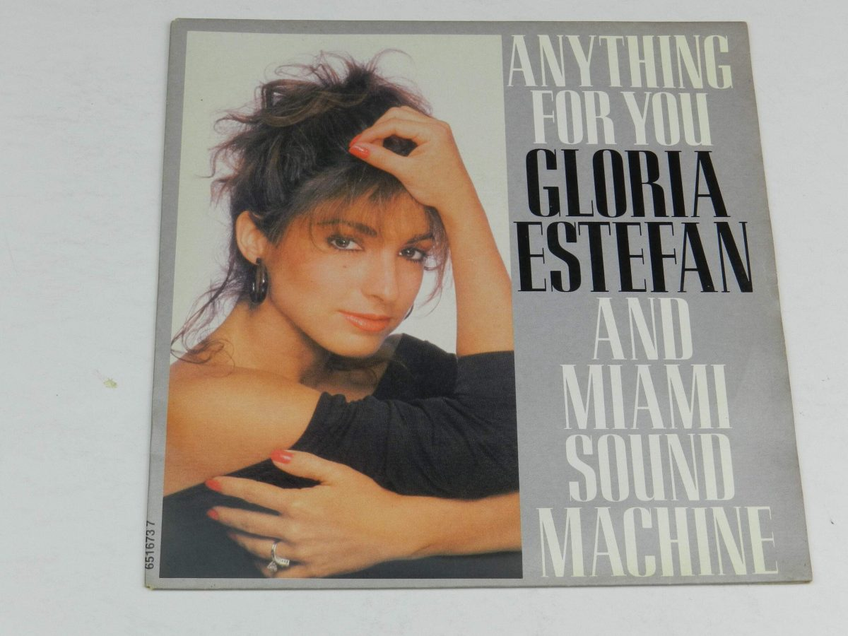 Gloria Estefan And Miami Sound Machine – Anything For You vinyl record sleeve scaled