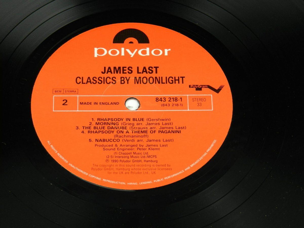 James Last – Classics By Moonlight vinyl record side B label scaled