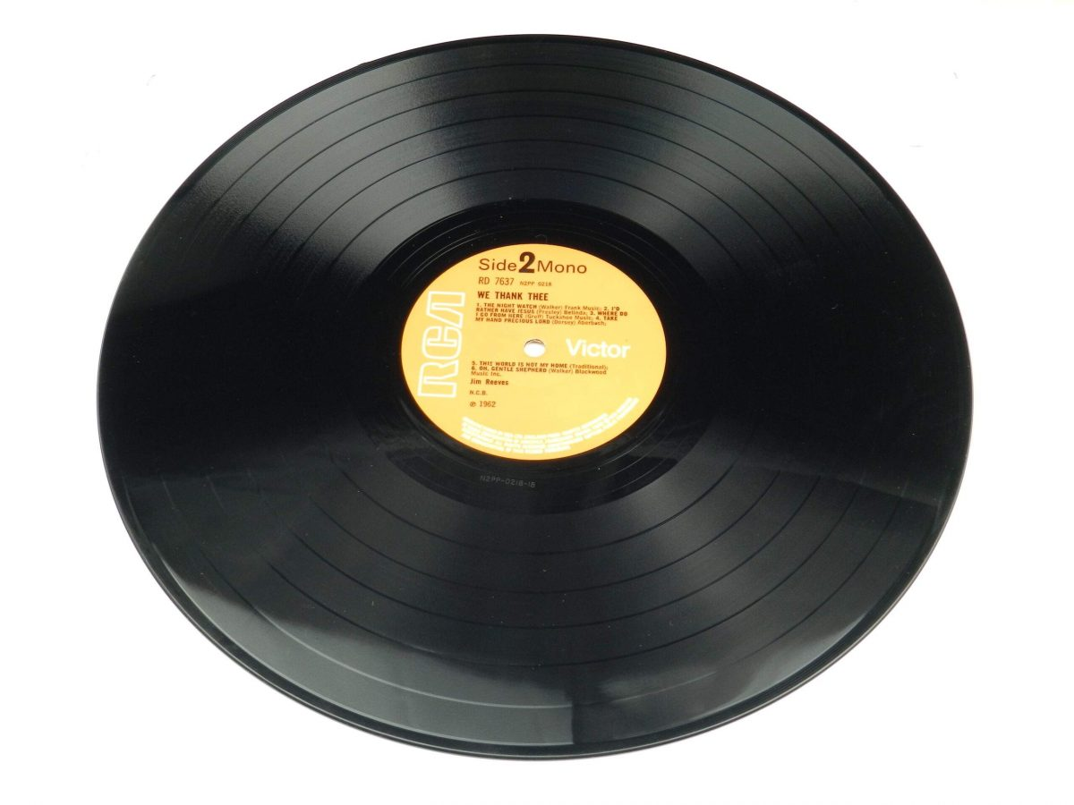 Jim Reeves – We Thank Thee vinyl record side B scaled