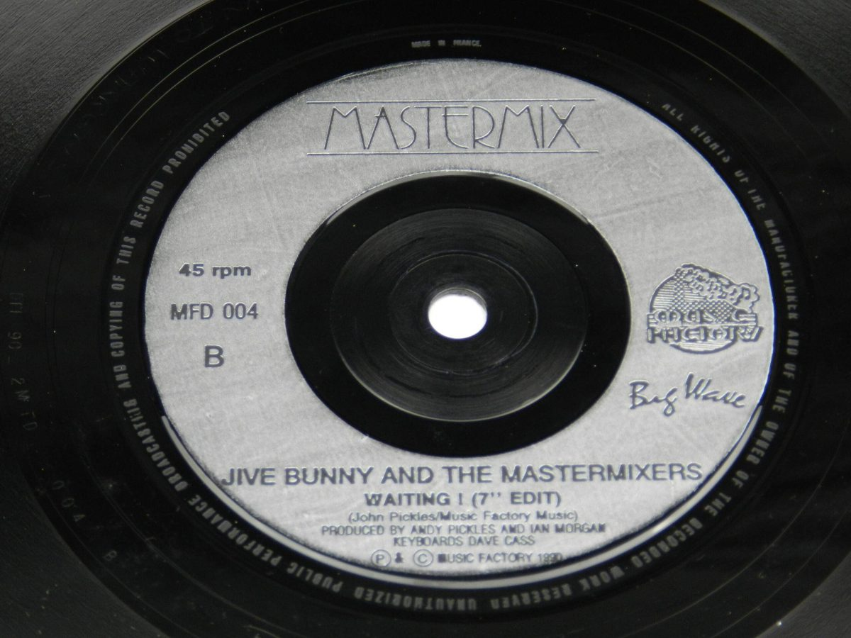 Jive Bunny And The Mastermixers – That Sounds Good To Me vinyl record side B label scaled