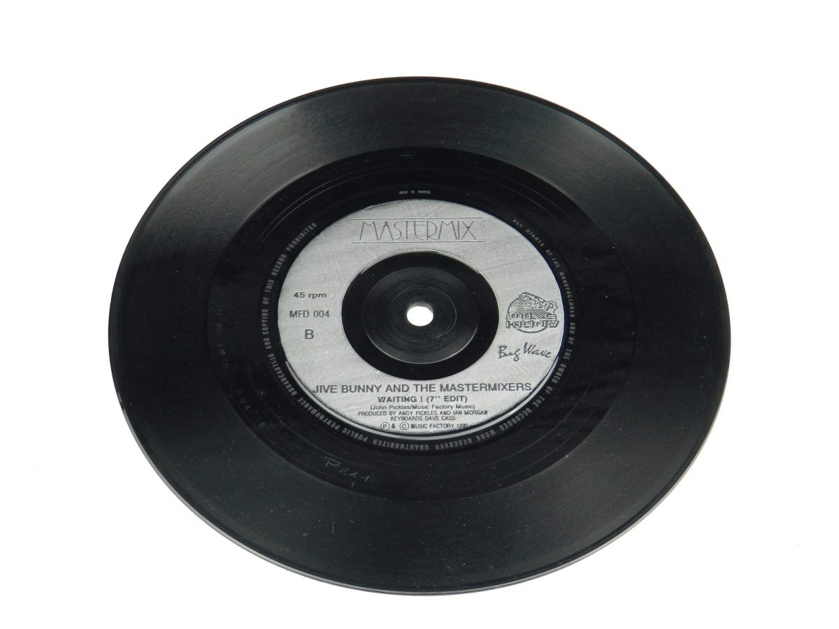 Jive Bunny And The Mastermixers – That Sounds Good To Me vinyl record side B scaled