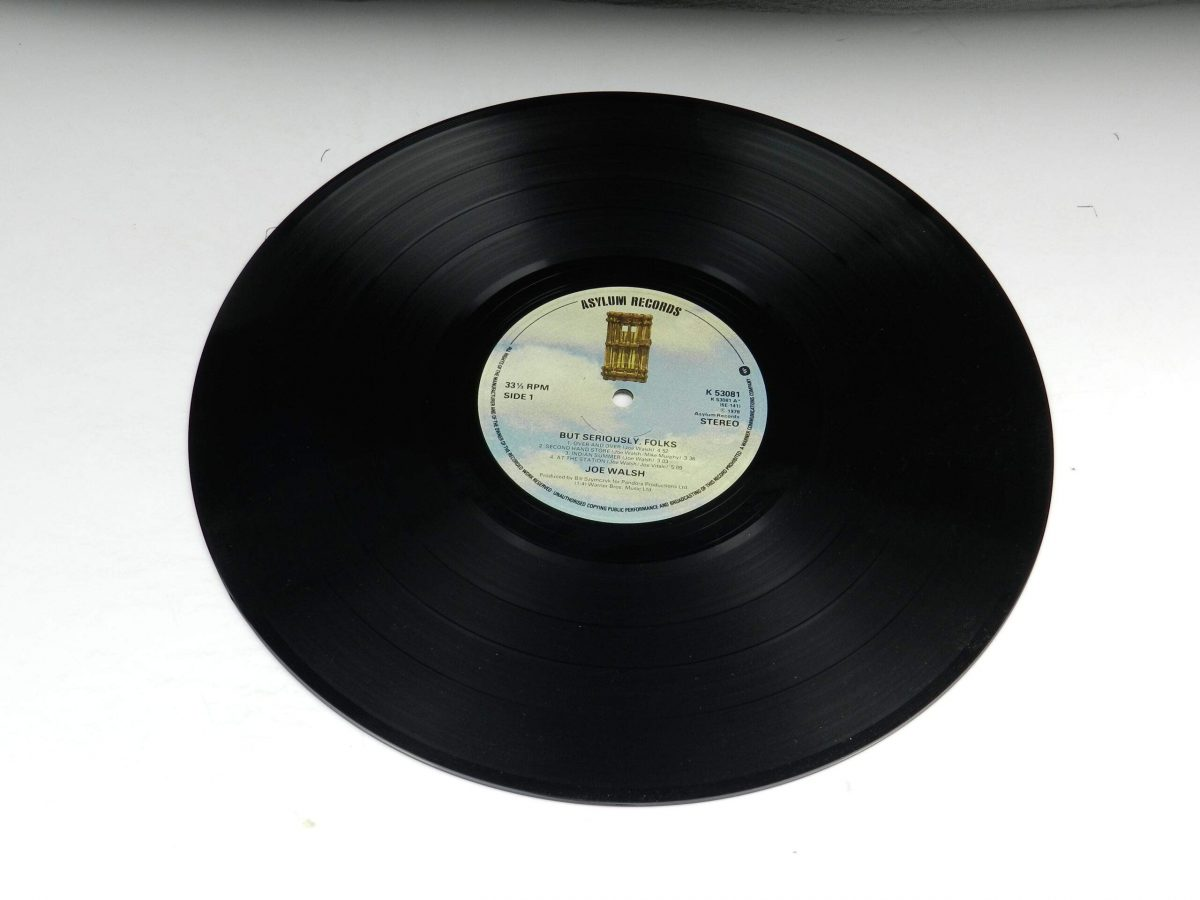Joe Walsh – But Seriously Folks vinyl record side A scaled
