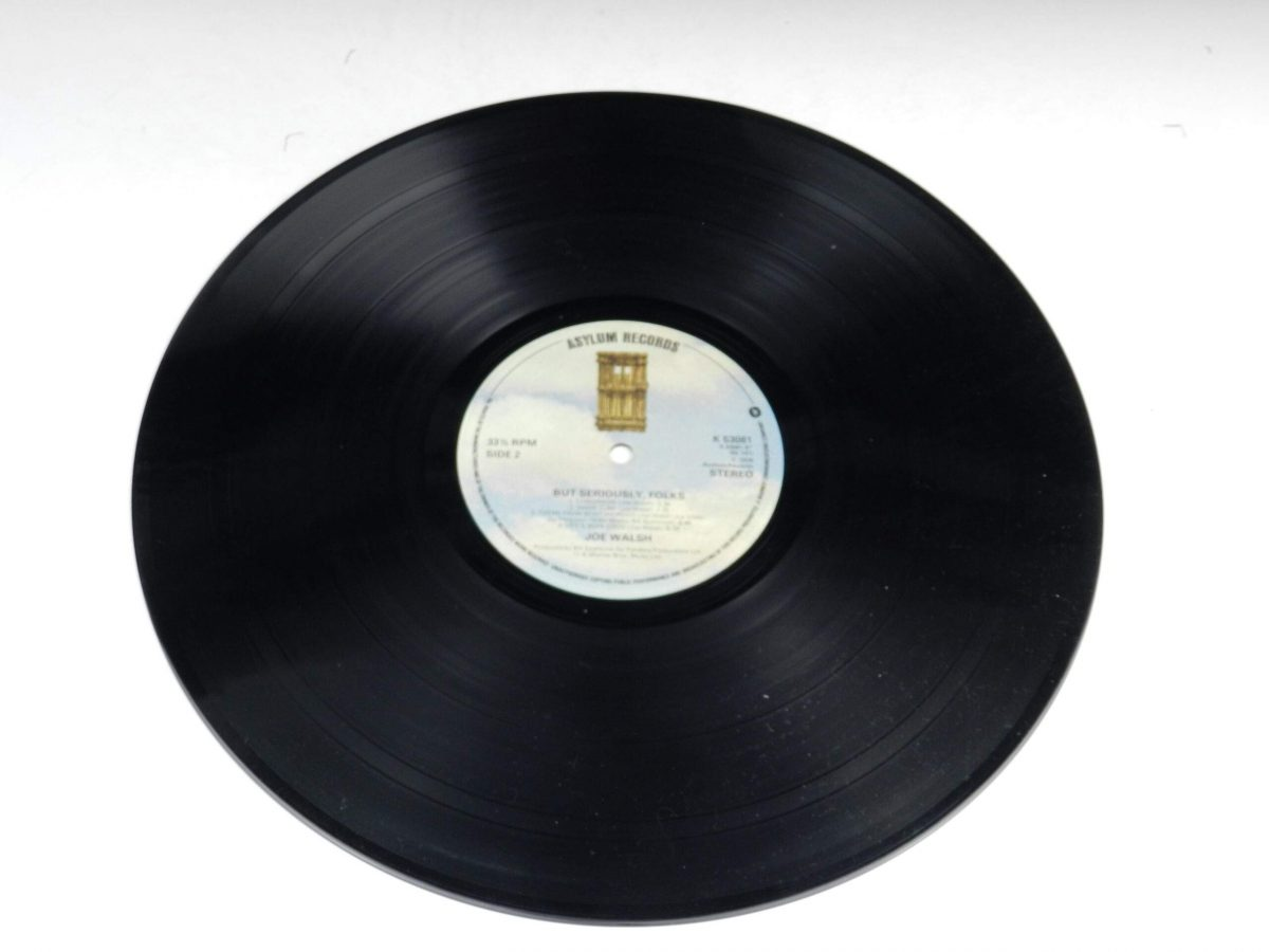 Joe Walsh – But Seriously Folks vinyl record side B scaled