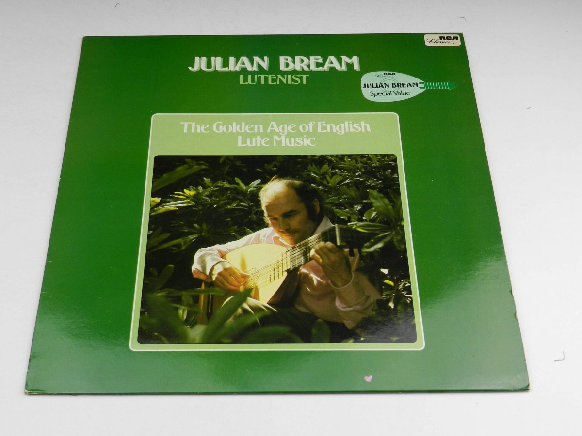 Julian Bream – The Golden Age Of English Lute Music vinyl record sleeve scaled