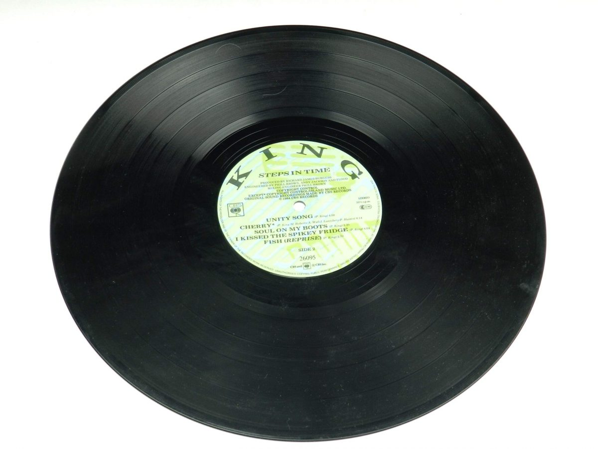 King – Steps In Time vinyl record side B scaled