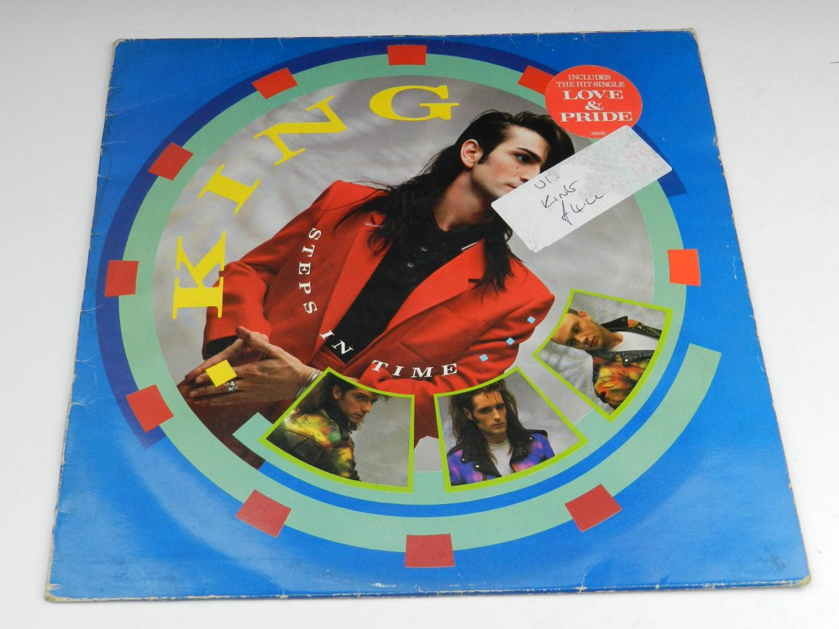 King – Steps In Time vinyl record sleeve scaled
