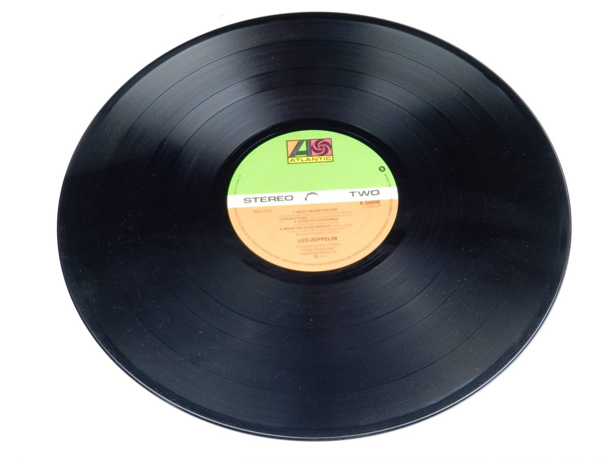 Led Zeppelin – Untitled vinyl record side B scaled