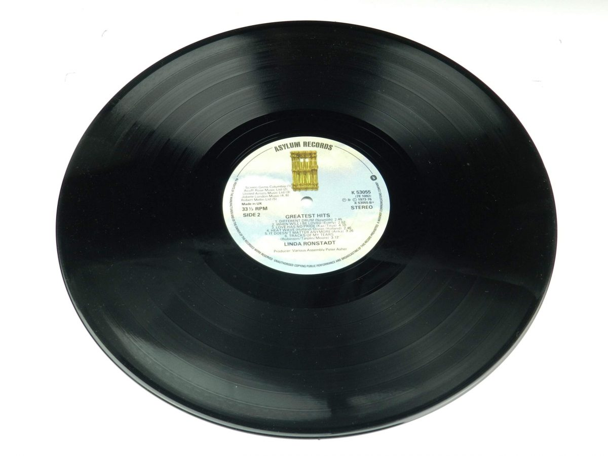 Linda Ronstadt – Greatest Hits vinyl record side B scaled