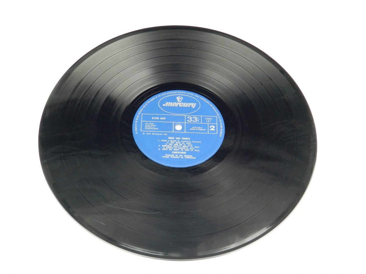 Lindisfarne – Back And Fourth vinyl record side B scaled