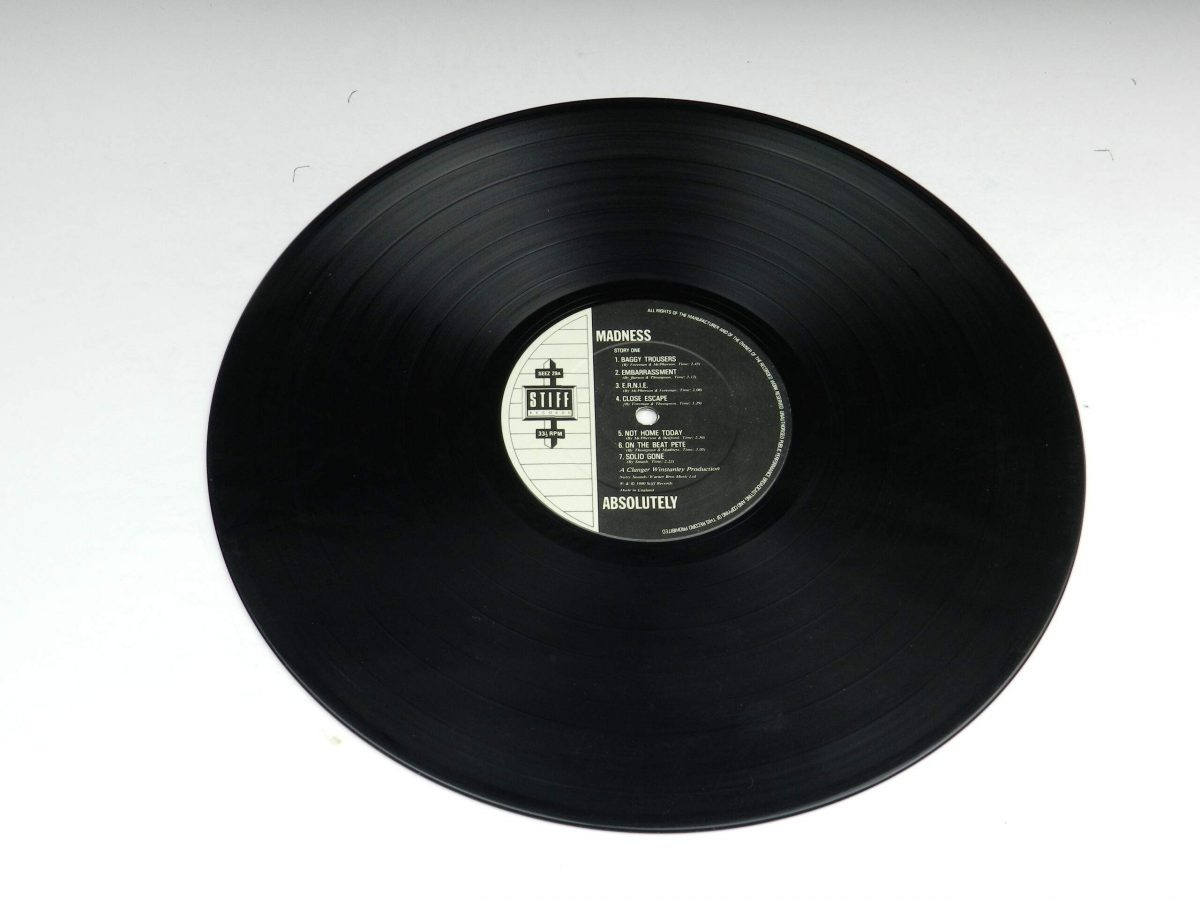 Madness – Absolutely vinyl record side A scaled