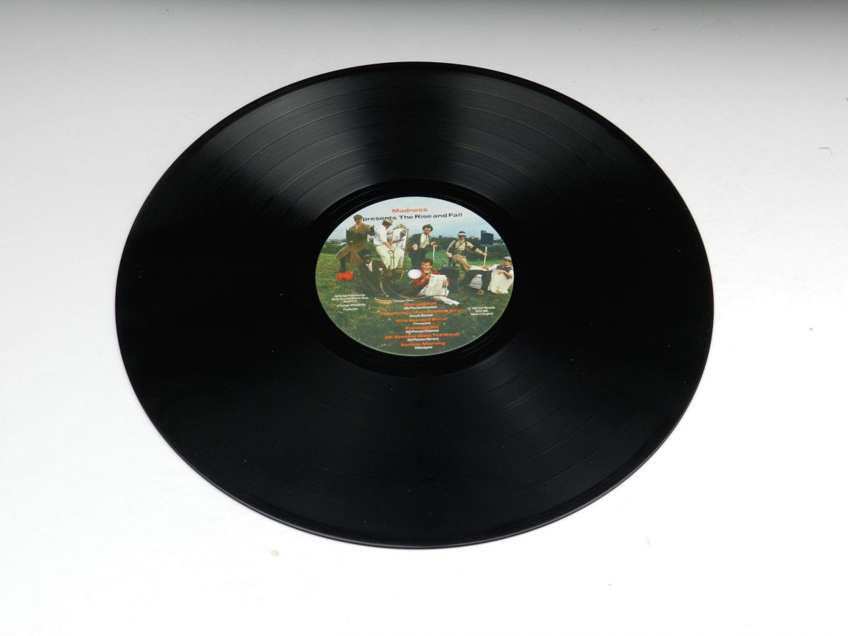 Madness – The Rise and Fall vinyl record side A scaled