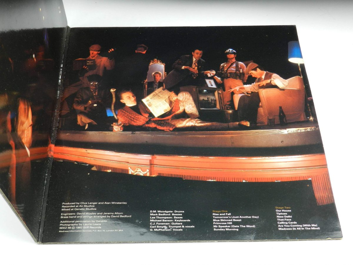 Madness – The Rise and Fall vinyl record sleeve gatefold 2 scaled