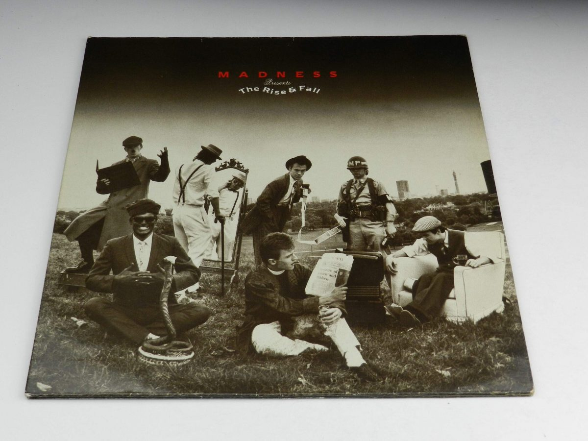 Madness – The Rise and Fall vinyl record sleeve scaled