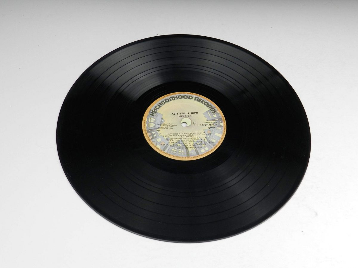 Melanie – As I See It Now vinyl record side A scaled