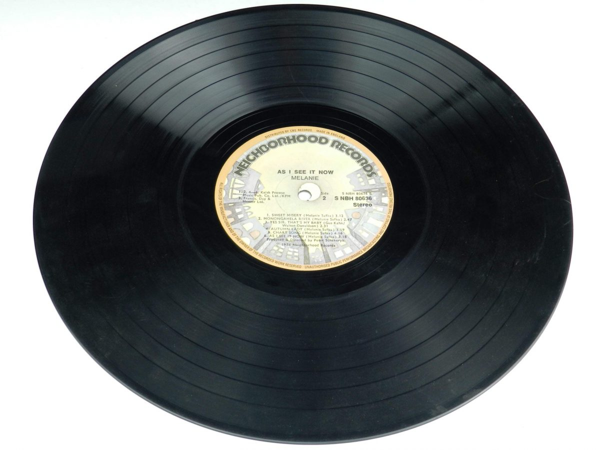 Melanie – As I See It Now vinyl record side B scaled