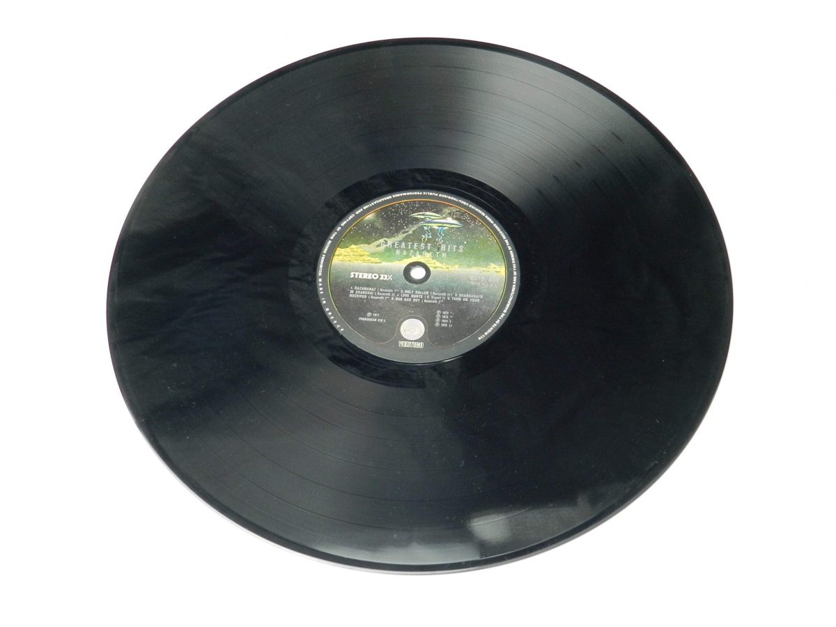 Nazareth – Greatest Hits vinyl record side A scaled