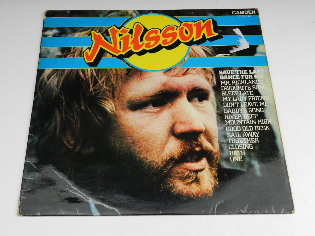 Nilsson – Save The Last Dance For Me vinyl record sleeve scaled