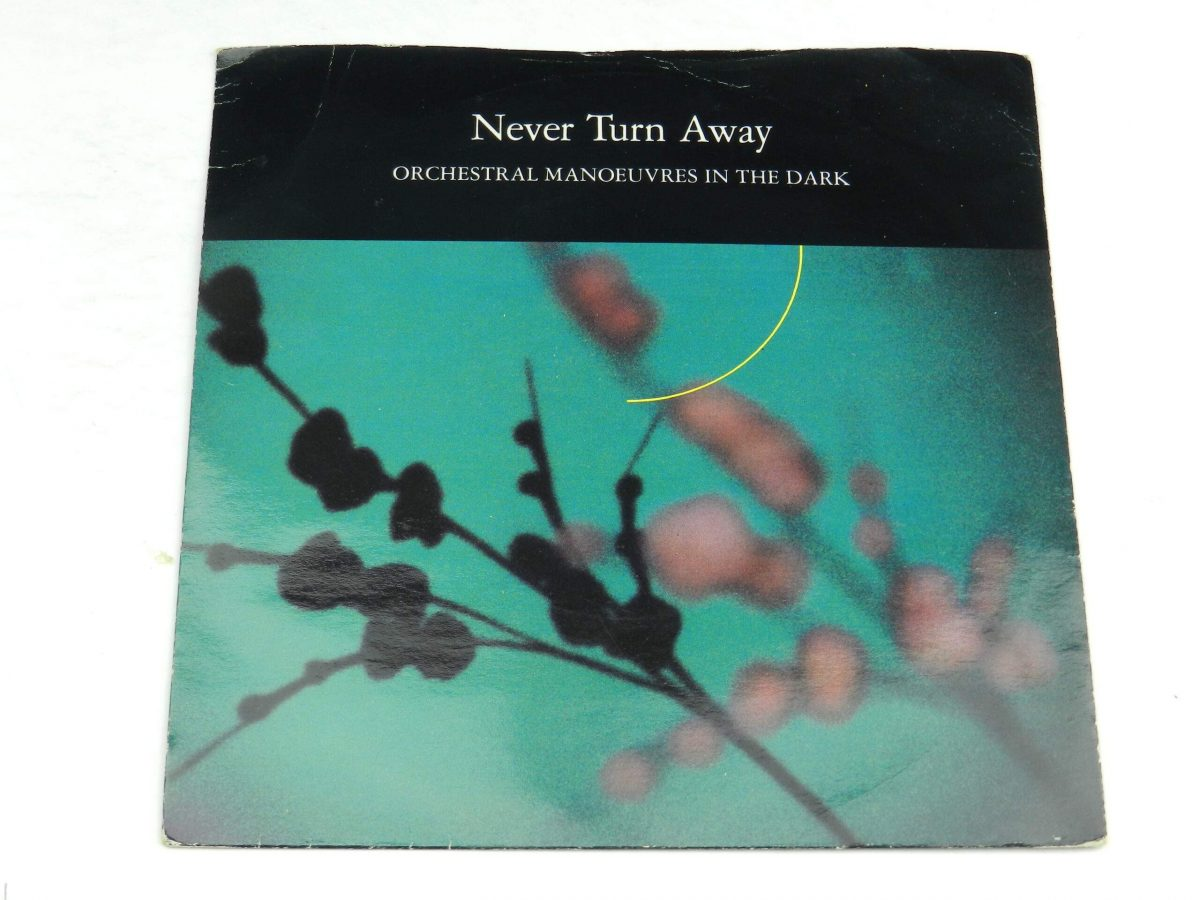 Orchestral Manoeuvres In The Dark – Never Turn Away vinyl record sleeve scaled