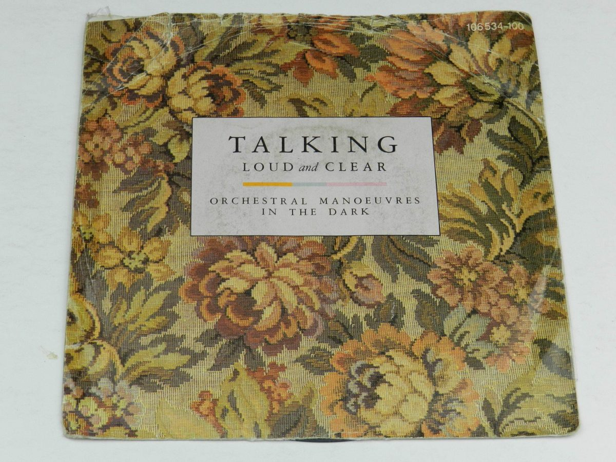 Orchestral Manoeuvres In The Dark – Talking Loud And Clear vinyl record sleeve scaled