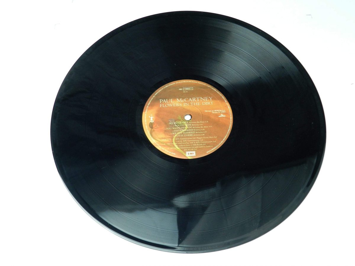 Paul McCartney – Flowers In The Dirt vinyl record side B scaled