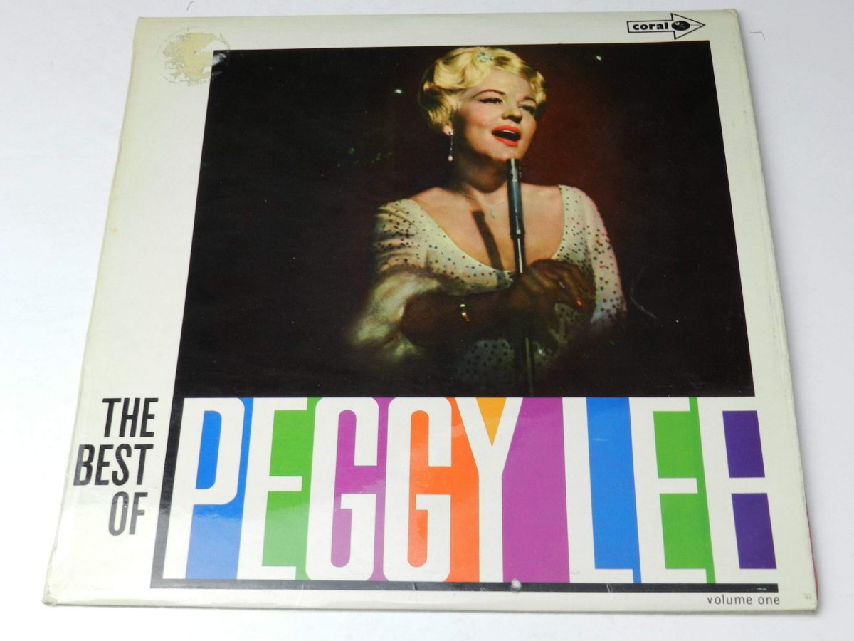 Peggy Lee – The Best Of Peggy Lee vinyl record sleeve scaled