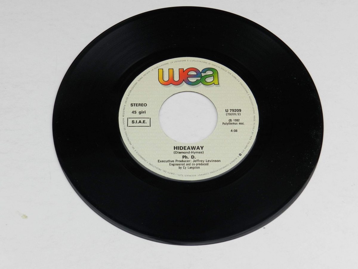 Ph.D. – I Won t Let You Down vinyl record side B scaled