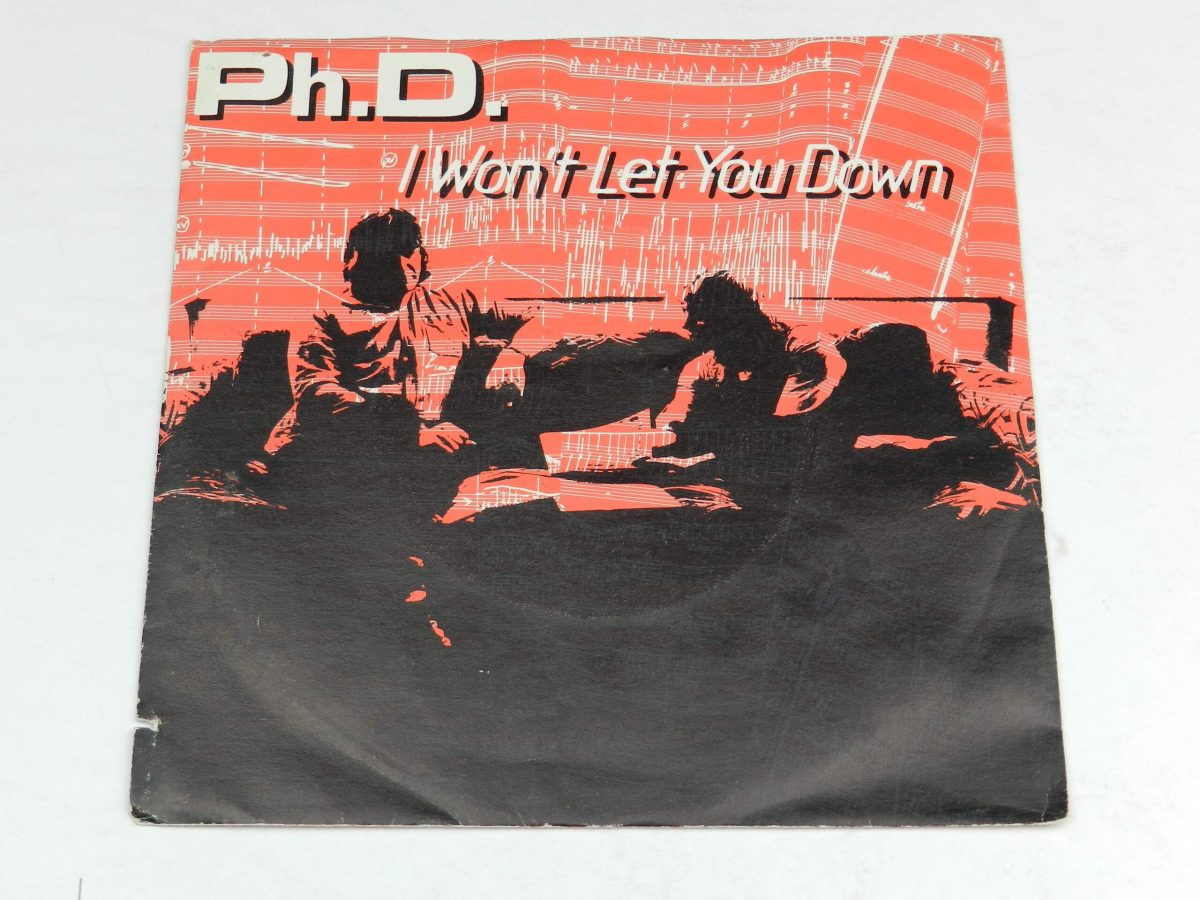 Ph.D. – I Won t Let You Down vinyl record sleeve scaled