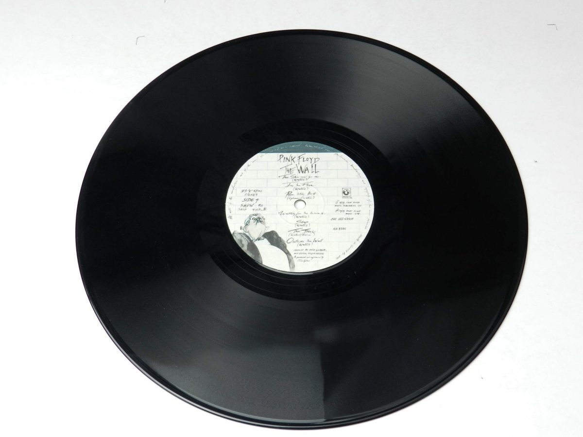 Pink Floyd – The Wall vinyl record 2 side B scaled