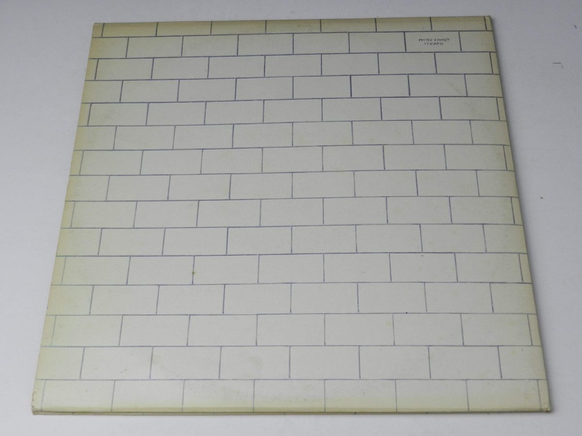 Pink Floyd – The Wall vinyl record sleeve rear scaled