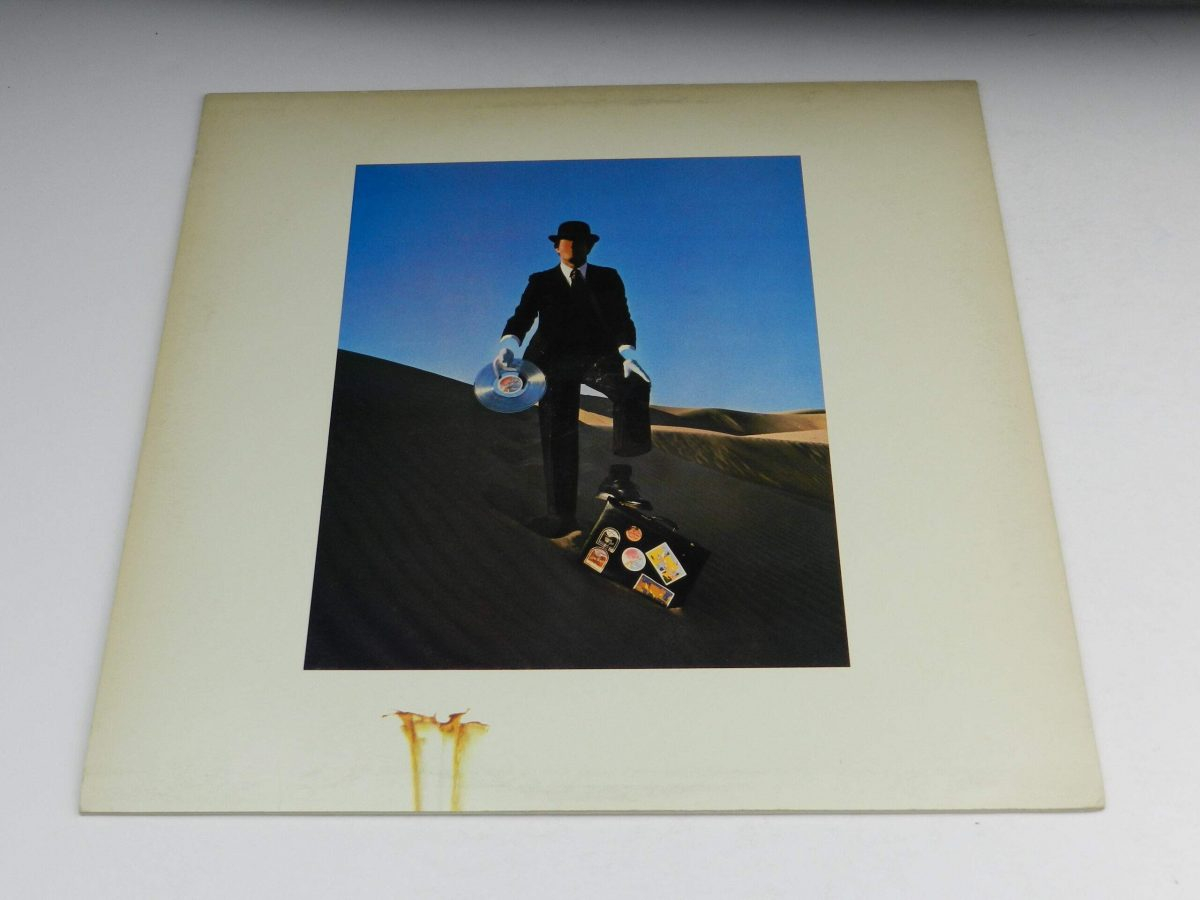Pink Floyd – Wish You Were Here vinyl record sleeve rear scaled