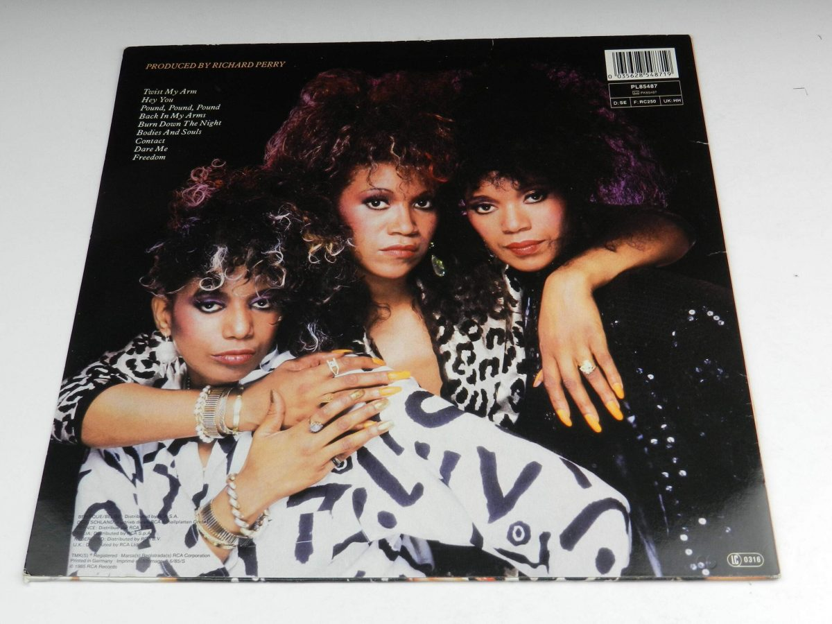 Pointer Sisters – Contact vinyl record sleeve rear scaled