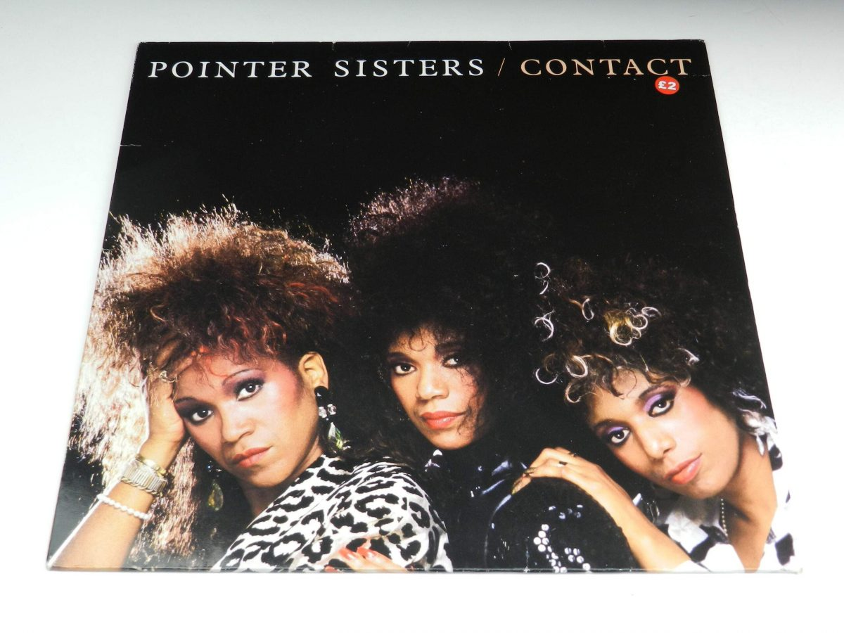 Pointer Sisters – Contact vinyl record sleeve scaled