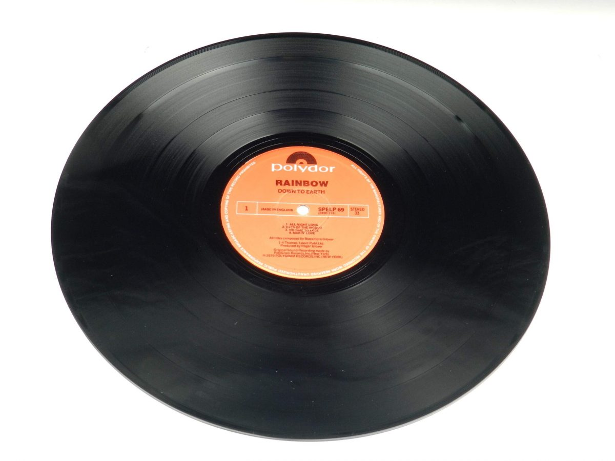 Rainbow – Down To Earth vinyl record side A scaled