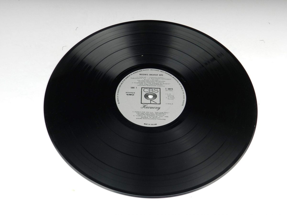 Rossini – Rossinis Greatest Hits vinyl record side A scaled
