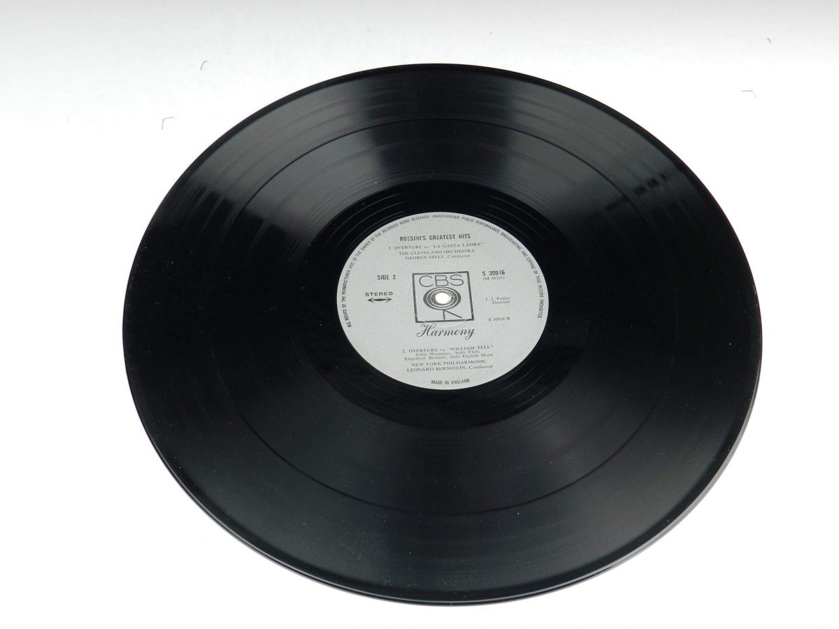 Rossini – Rossinis Greatest Hits vinyl record side B scaled