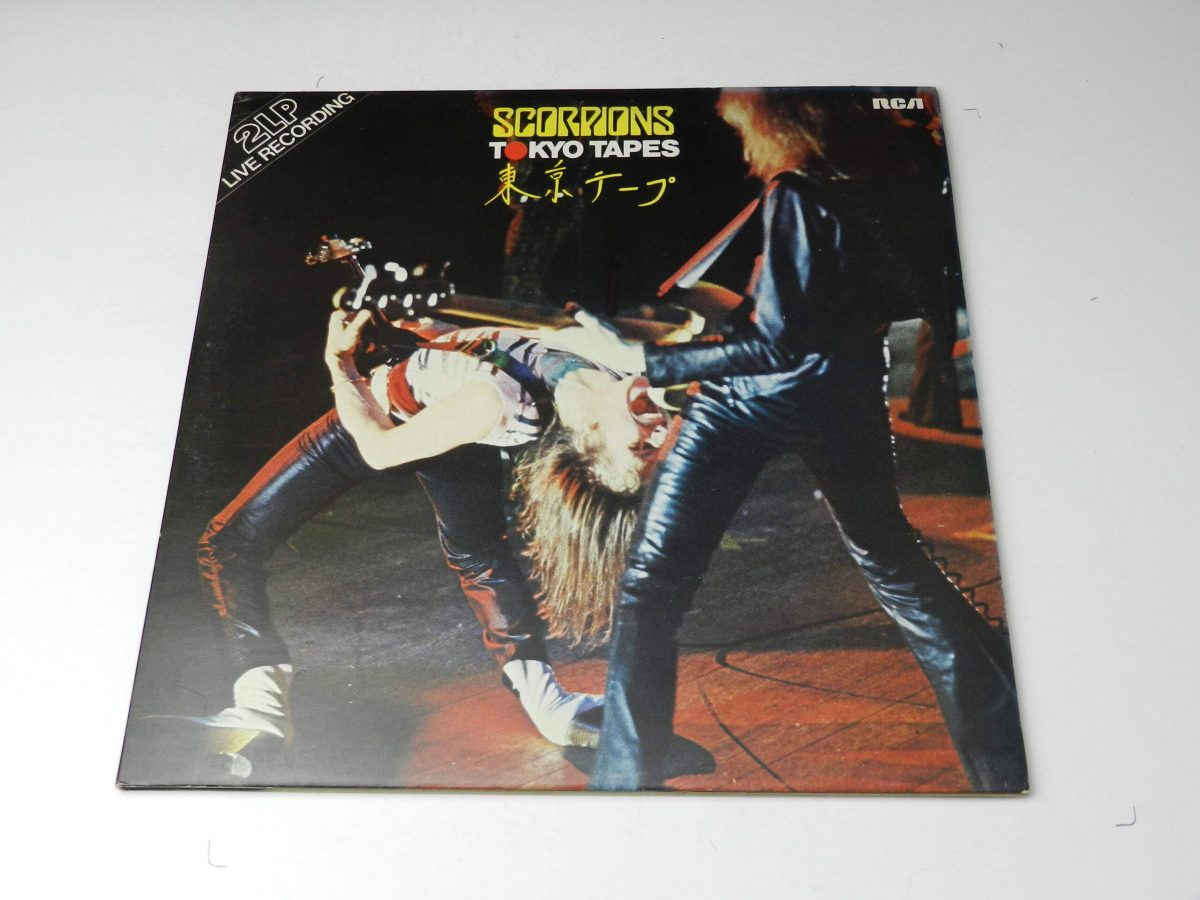 Scorpions – Tokyo Tapes vinyl record sleeve scaled