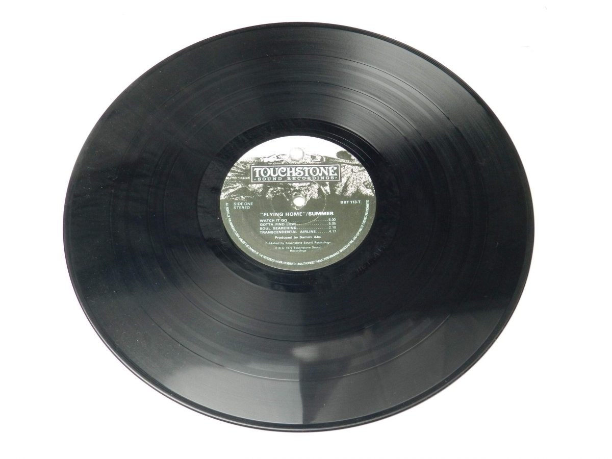 Summer – Flying Home vinyl record side A 1 scaled