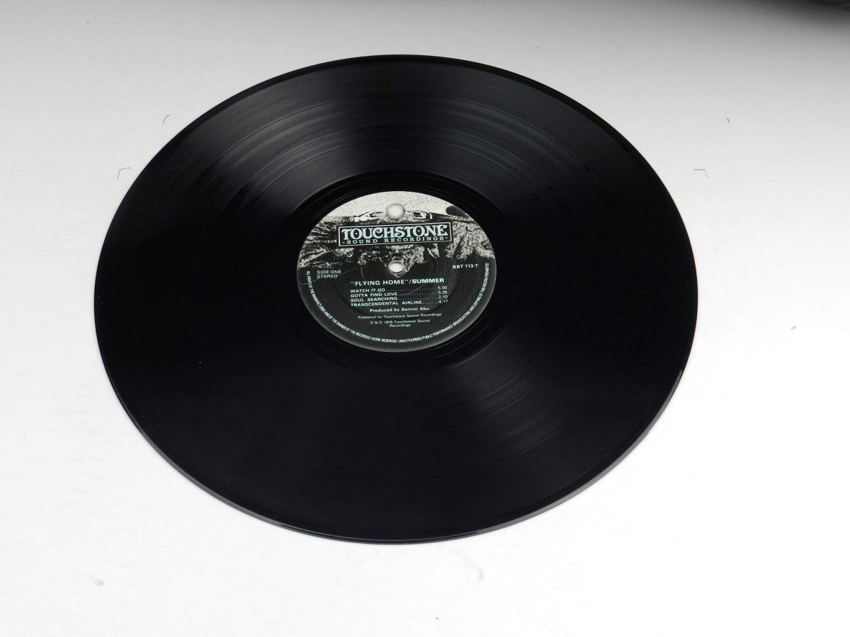 Summer – Flying Home vinyl record side A scaled