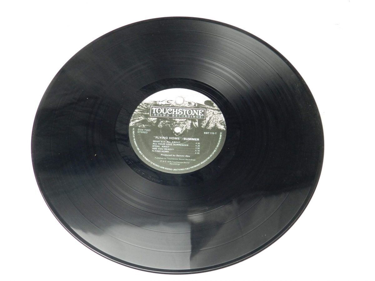 Summer – Flying Home vinyl record side B 1 scaled