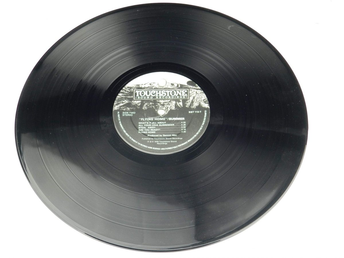Summer – Flying Home vinyl record side B scaled
