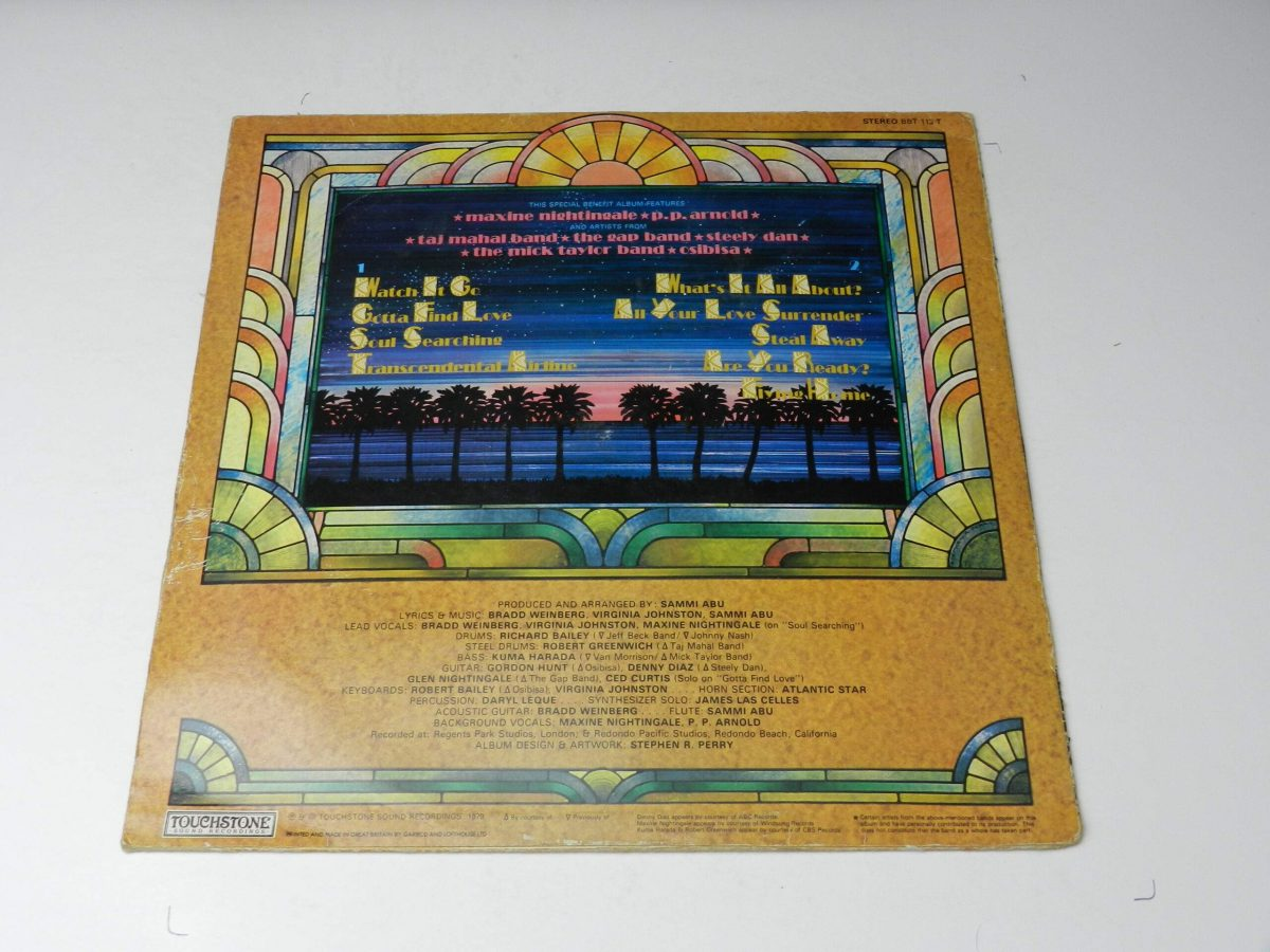 Summer – Flying Home vinyl record sleeve rear 1 scaled