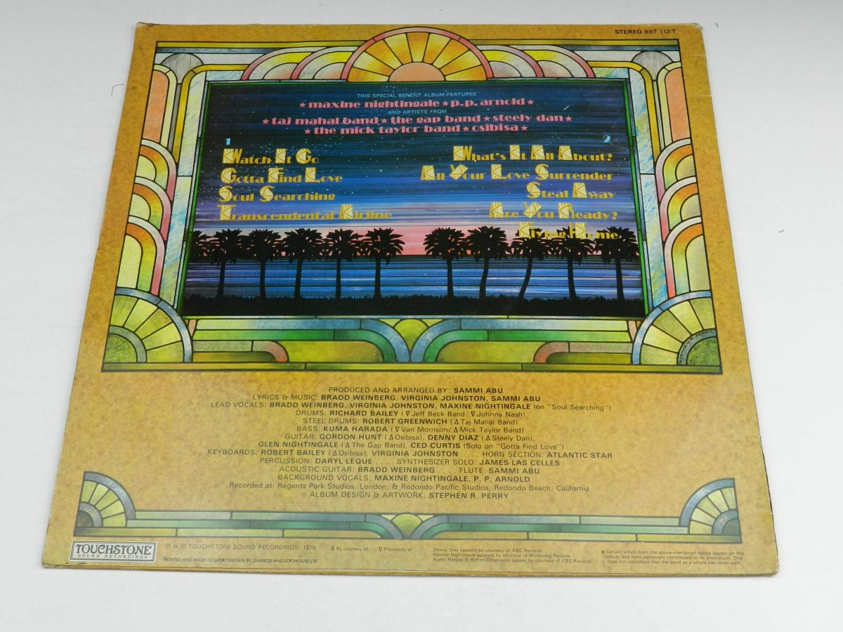 Summer – Flying Home vinyl record sleeve rear scaled