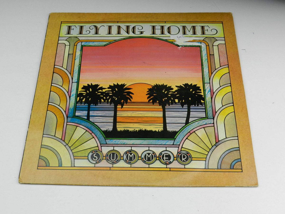 Summer – Flying Home vinyl record sleeve scaled