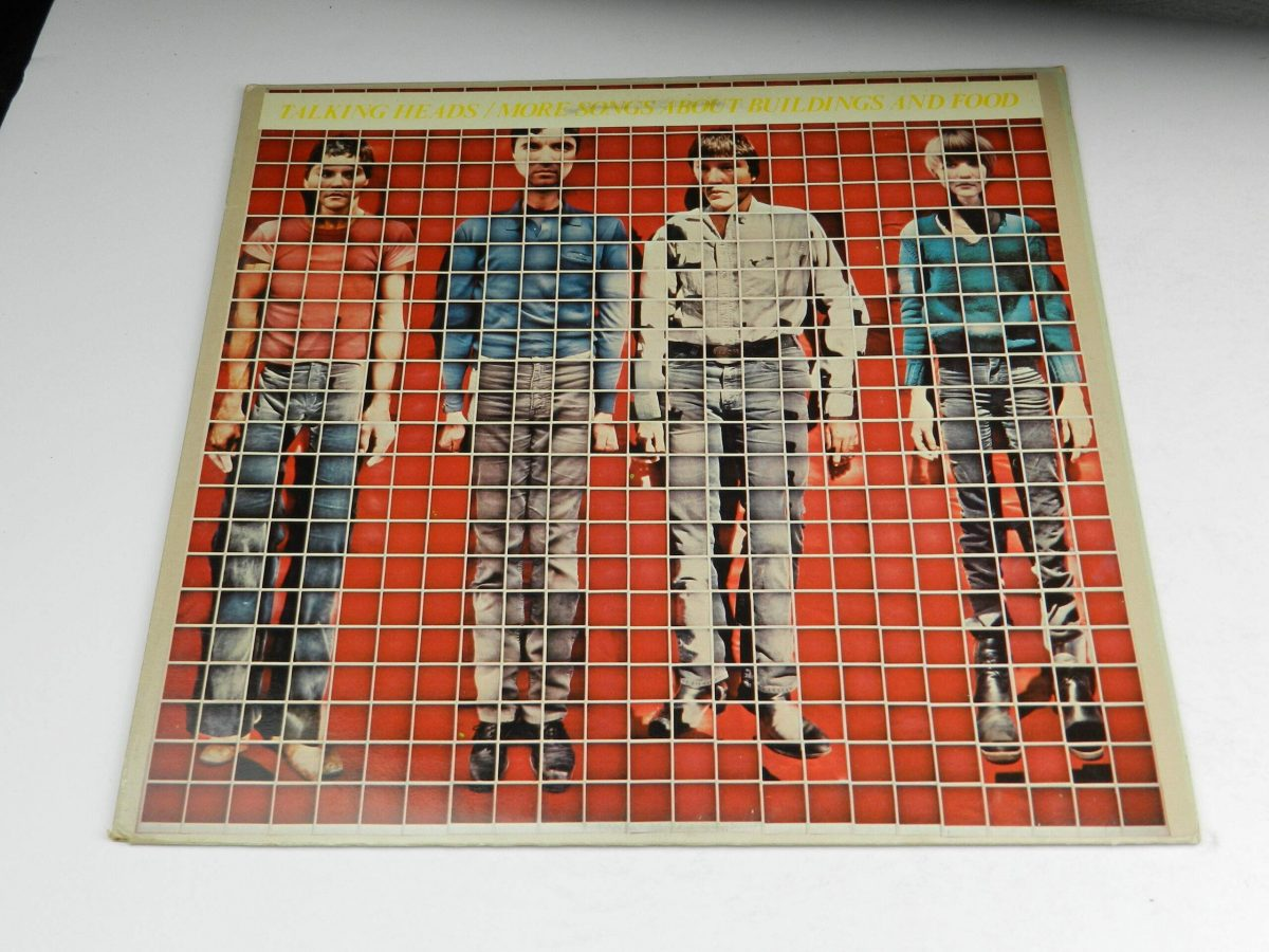 Talking Heads – More Songs About Buildings And Food vinyl record sleeve scaled