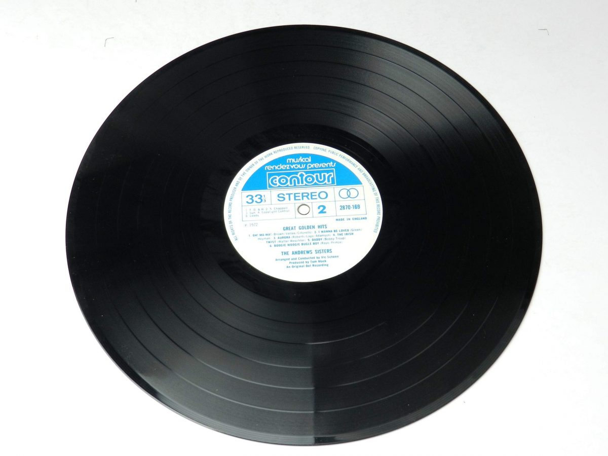 The Andrews Sisters – Great Golden Hits vinyl record side B scaled