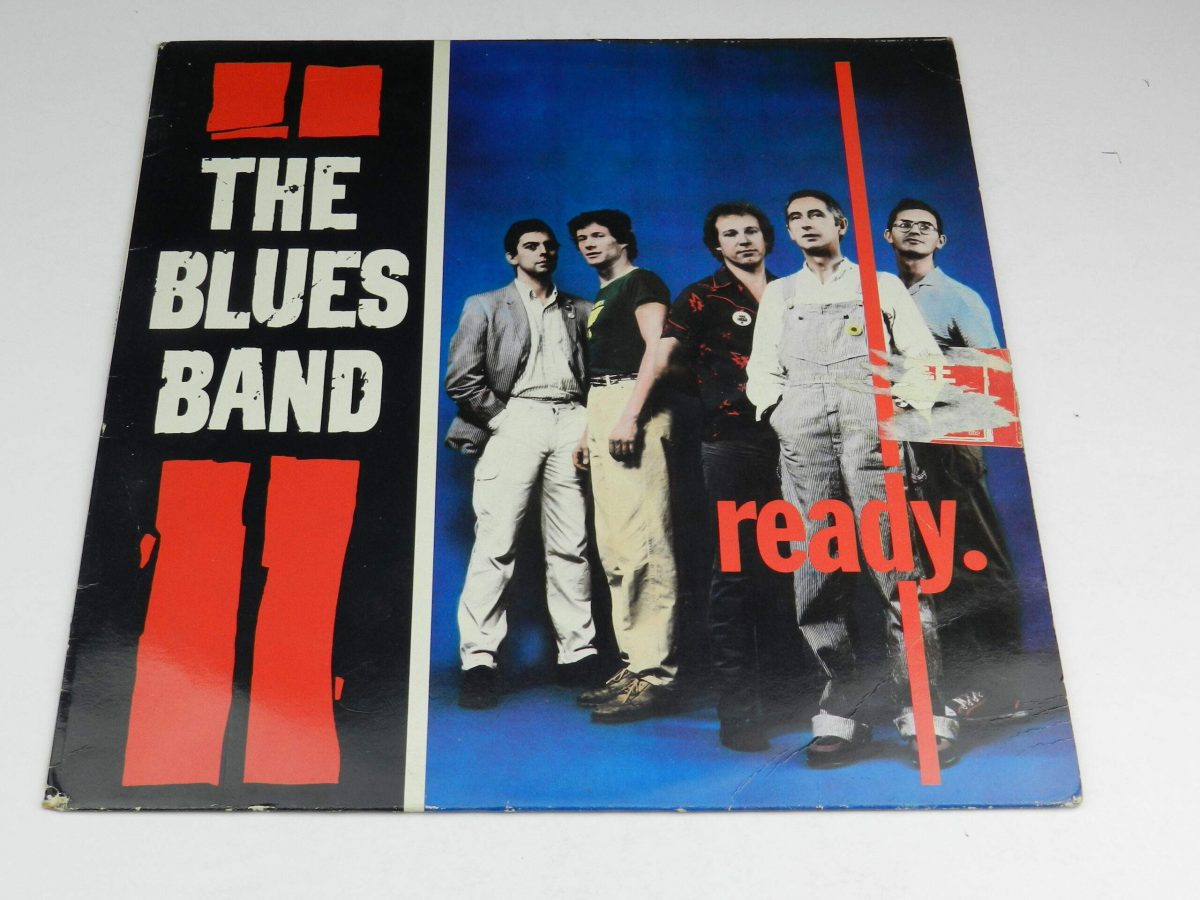 The Blues Band – Ready vinyl record sleeve scaled
