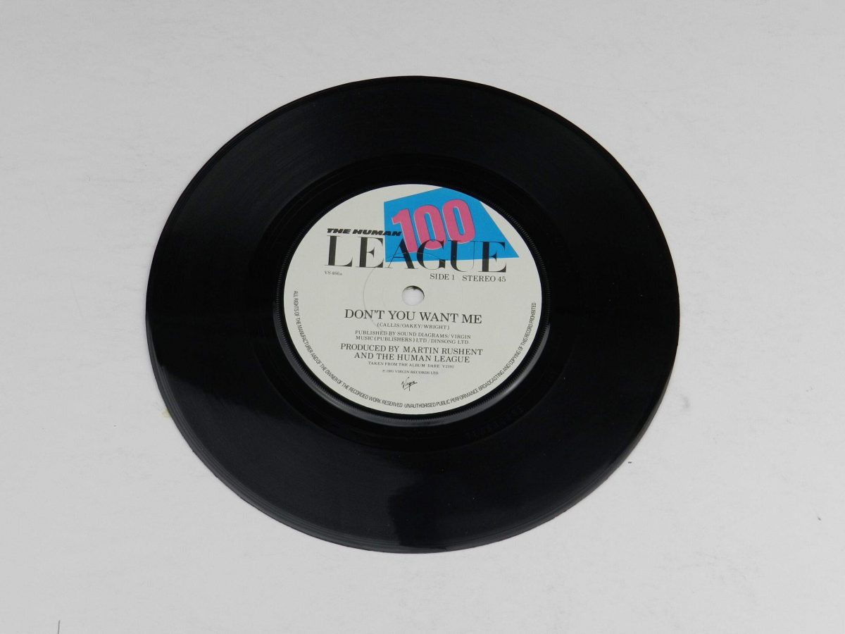 The Human League – Dont You Want Me vinyl record side A scaled