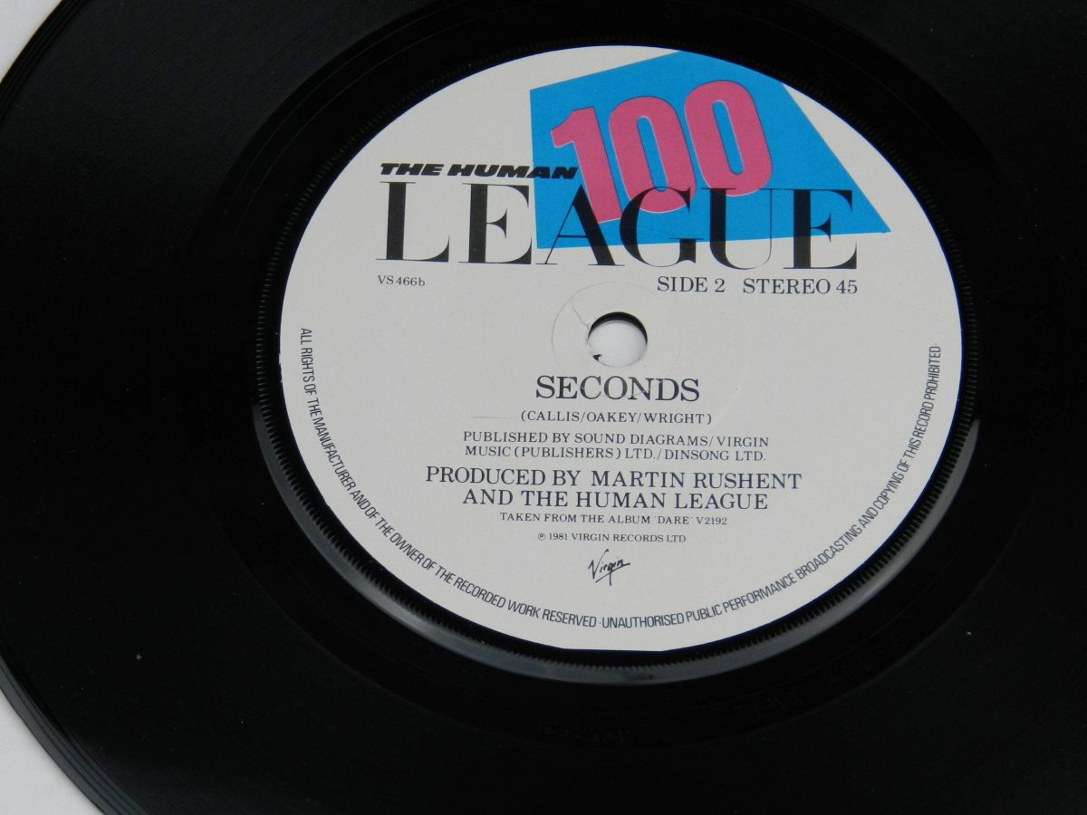 The Human League – Dont You Want Me vinyl record side B label scaled